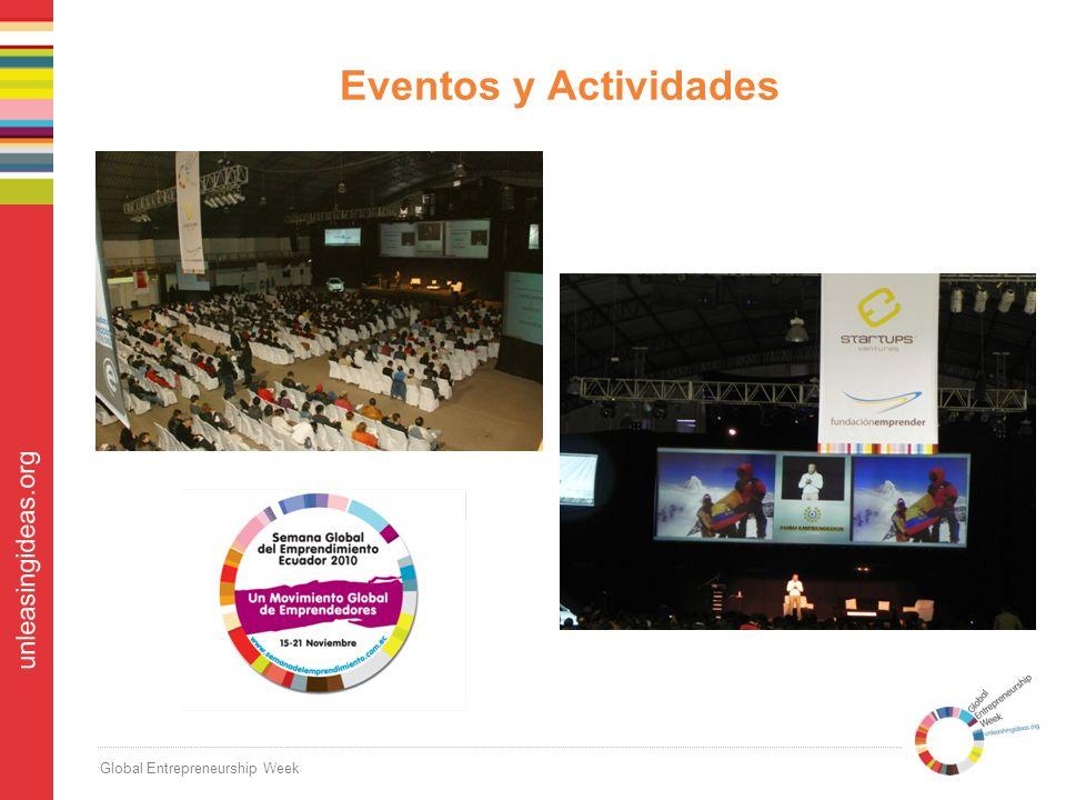 Global Entrepreneurship Week unleasingideas.org Eventos y Actividades