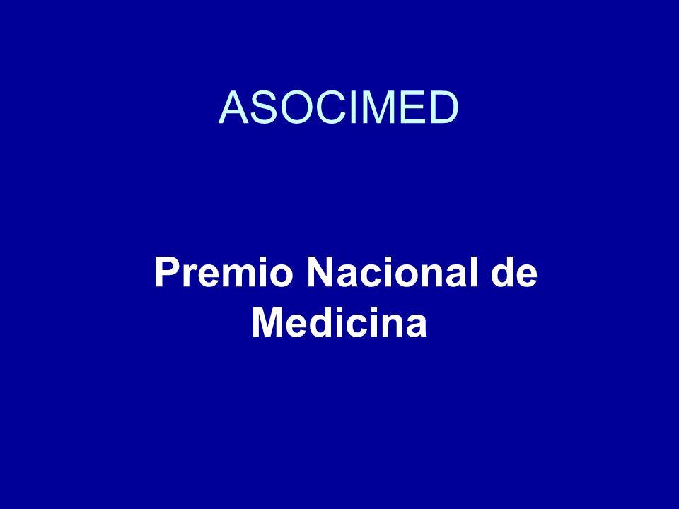 ASOCIMED Premio Nacional de Medicina