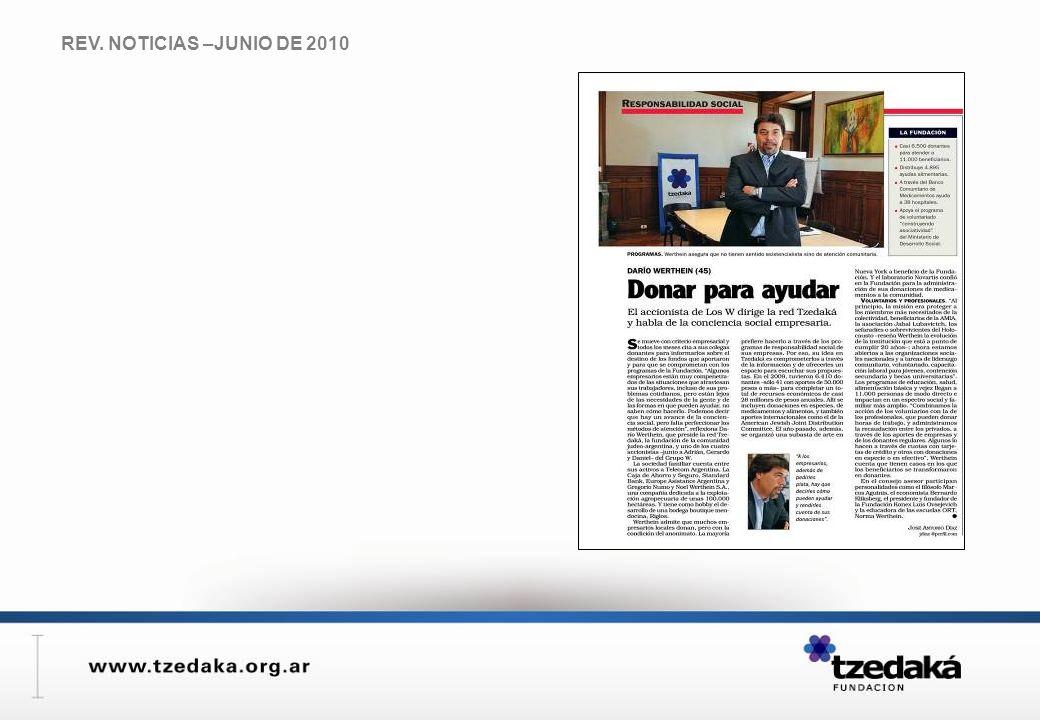 REV. NOTICIAS –JUNIO DE 2010