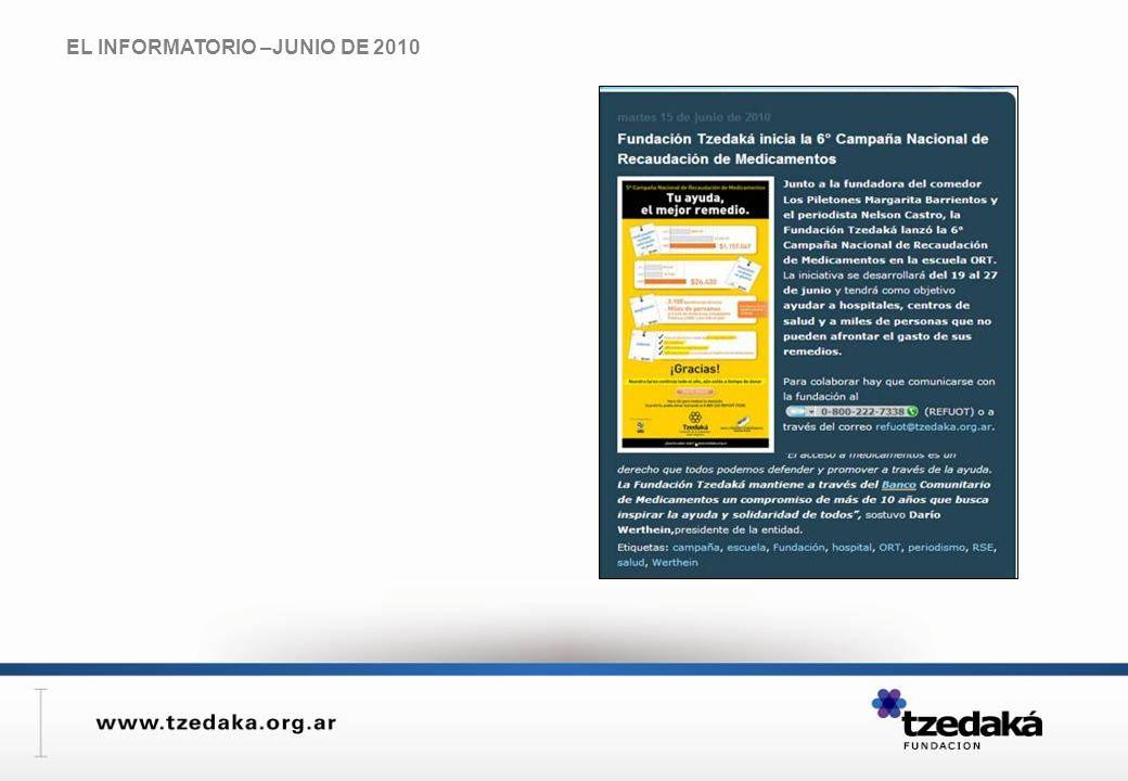 EL INFORMATORIO –JUNIO DE 2010