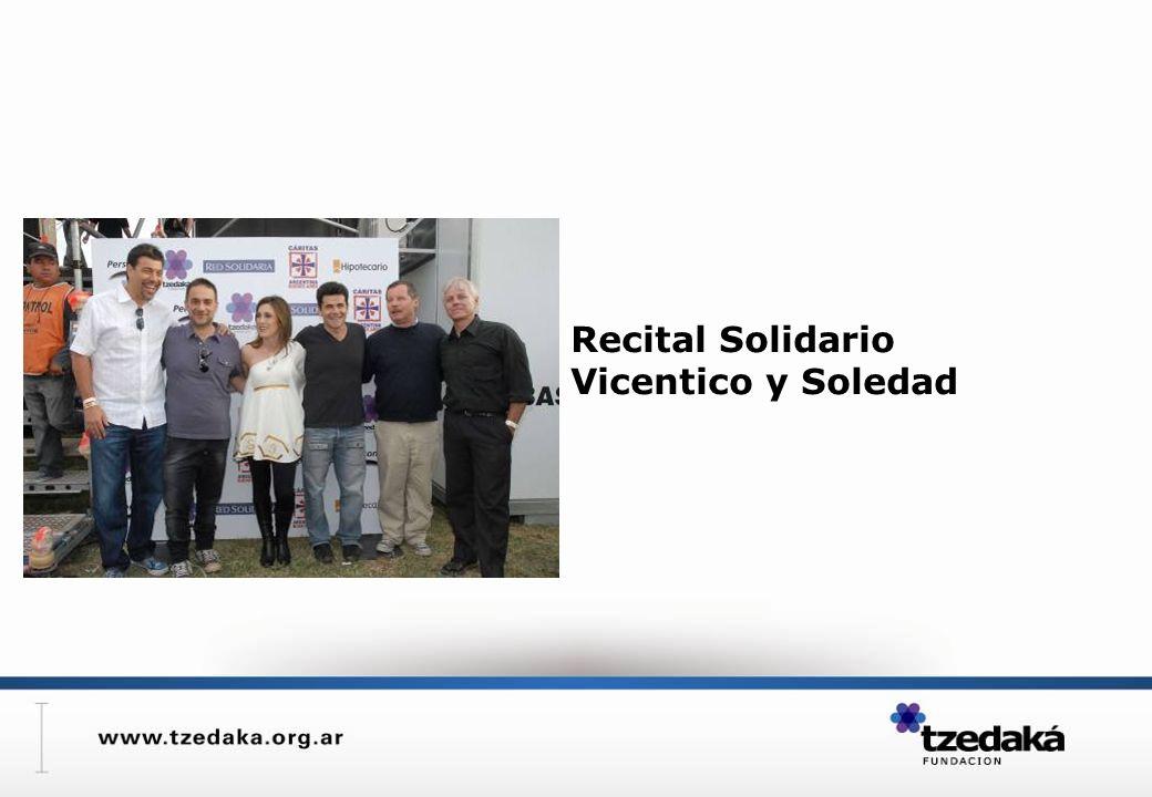 Recital Solidario Vicentico y Soledad