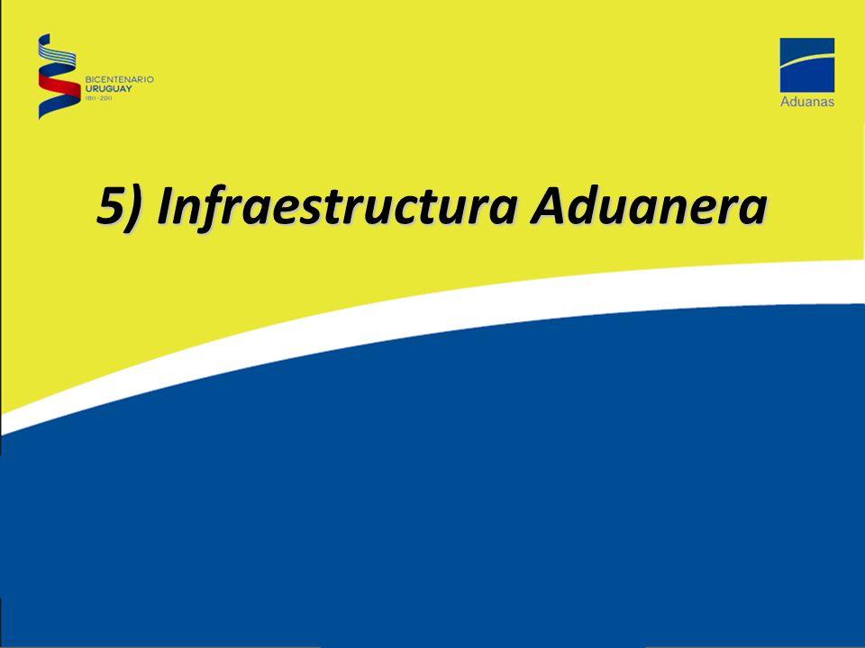 5) Infraestructura Aduanera
