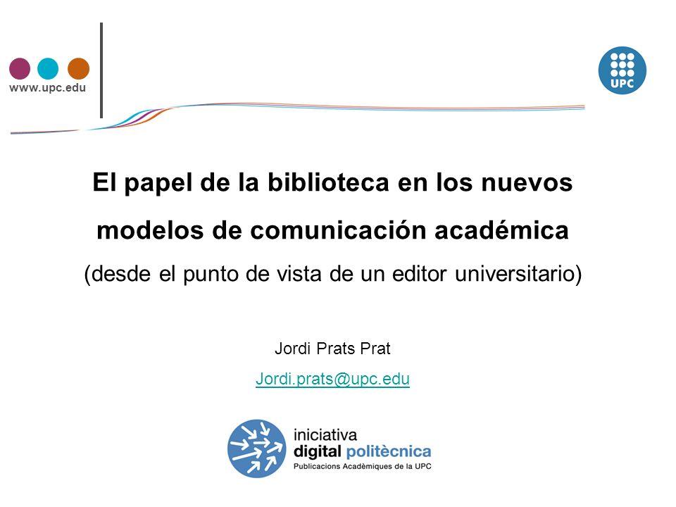 www.upc.edu Estrategias Iniciativa Digital Politècnica.