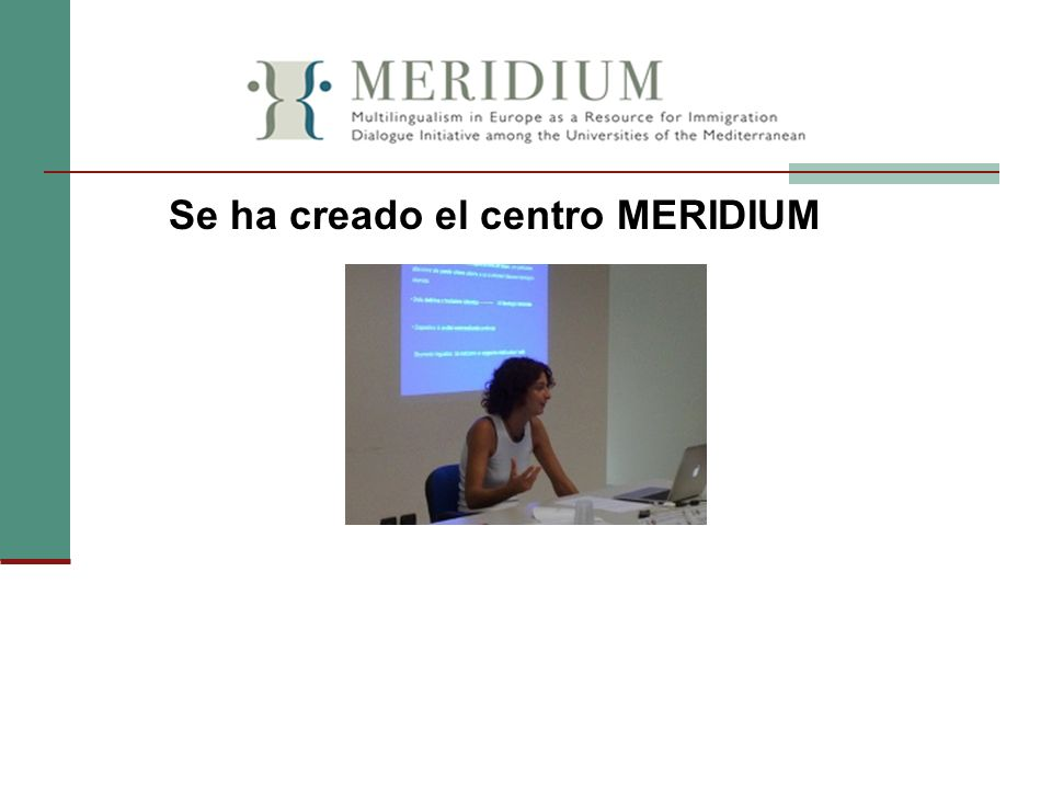 Se ha creado el centro MERIDIUM