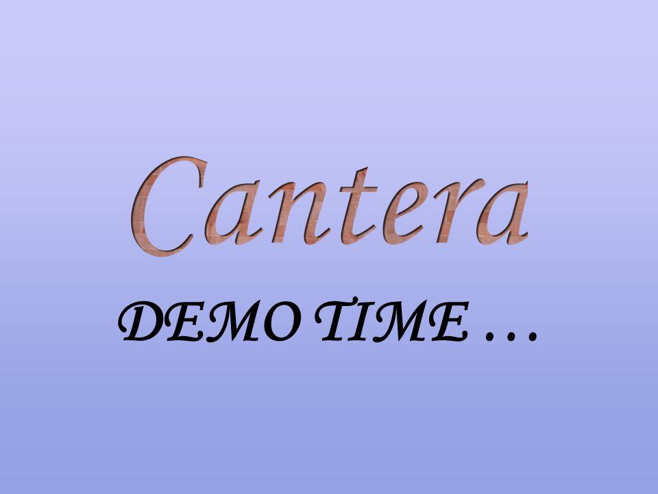 DEMO TIME …