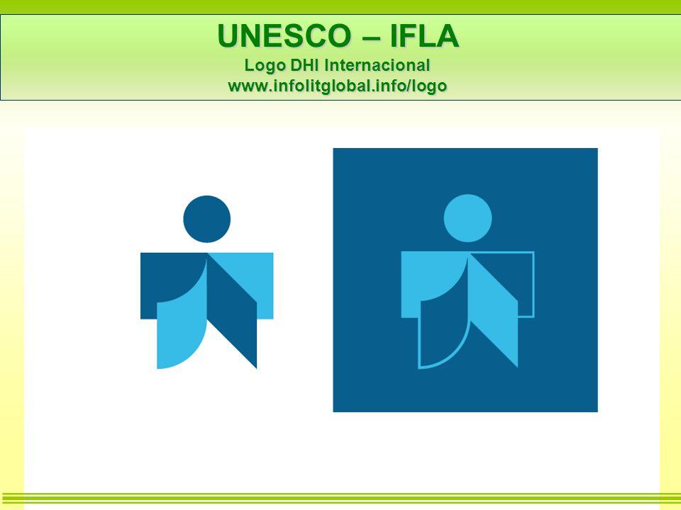 UNESCO – IFLA Logo DHI Internacional www.infolitglobal.info/logo