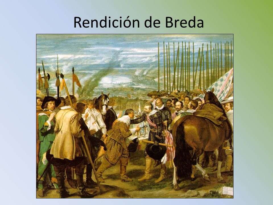 Rendición de Breda