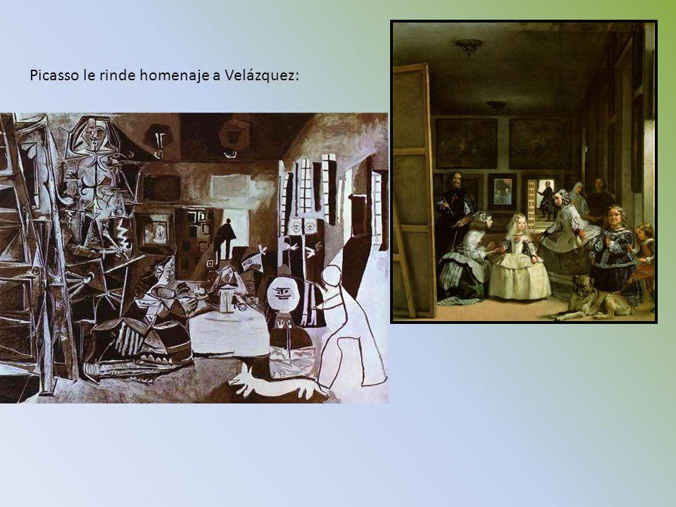 Picasso le rinde homenaje a Velázquez: