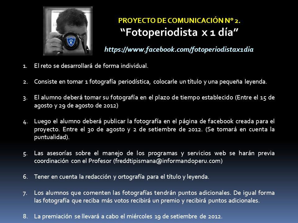 PROYECTO DE COMUNICACIÓN N° 2.
