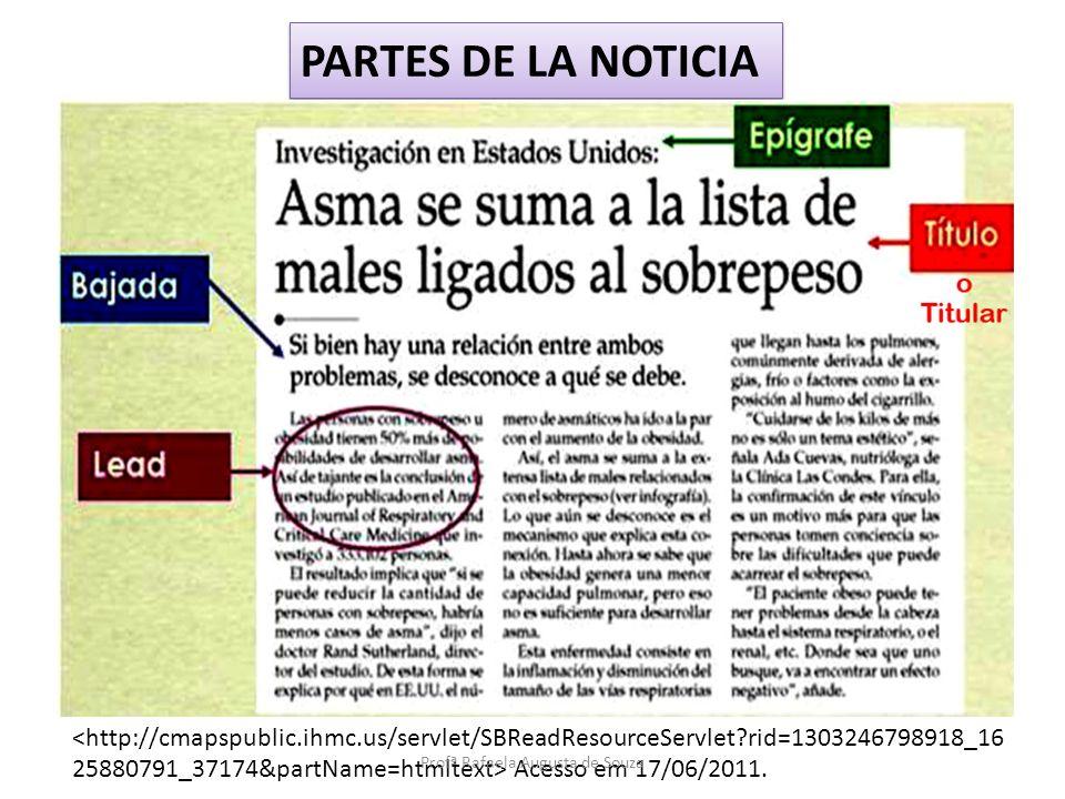Disponível em: Acesso em 17/06/2011. Profª Rafaela Augusta de Souza