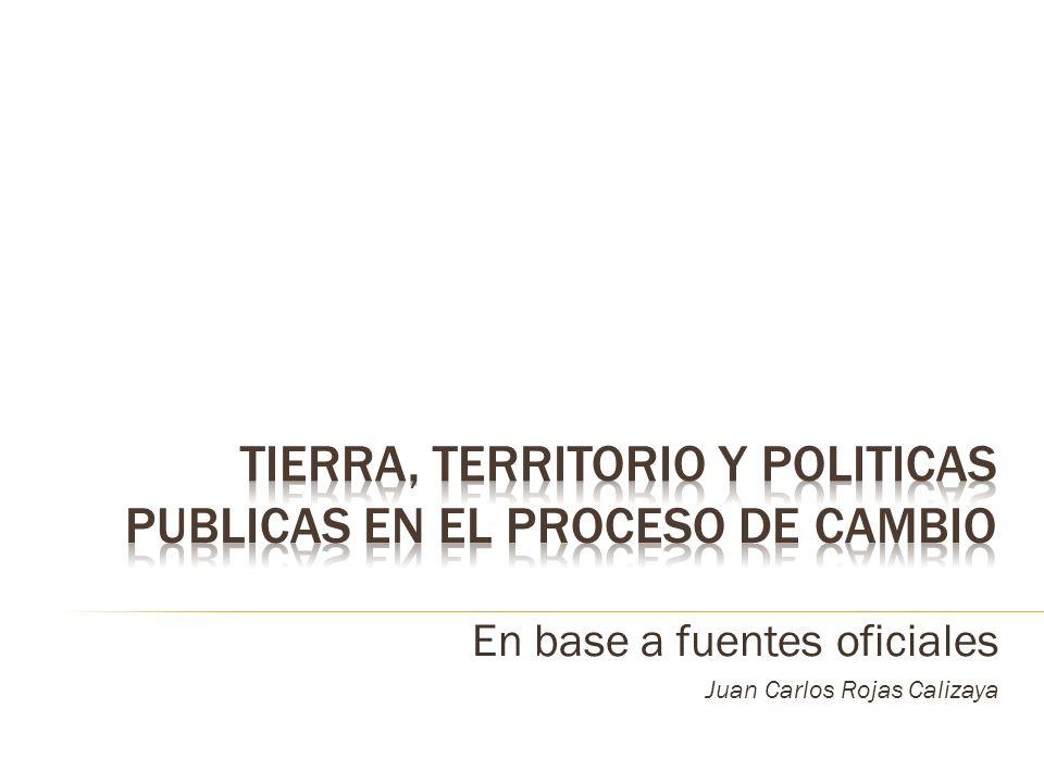En base a fuentes oficiales Juan Carlos Rojas Calizaya