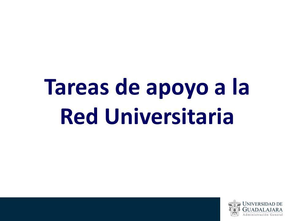 Tareas de apoyo a la Red Universitaria