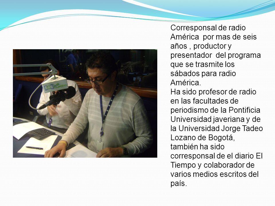 ASPECTOS DE INTERÉS: Premio Nacional de cuento de la Universidad de Cartagena y dos menciones especiales en concursos de cuentos.
