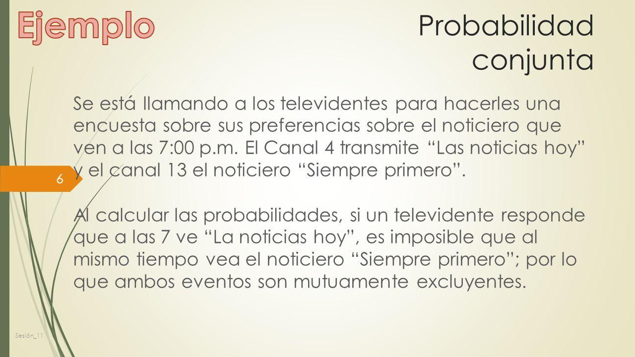 Regla del Complemento La regla del complemento es la probabilidad de que no ocurra un evento.