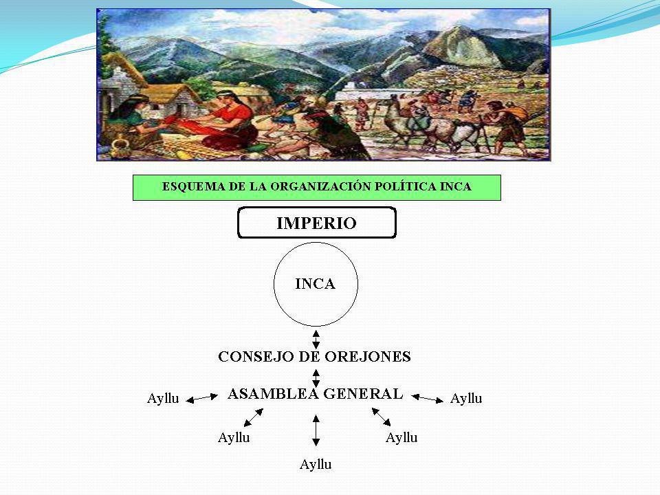 ¿Cómo se gobernaba? El imperio incaico estaba gobernado por el Inca, que habitaba en su capital. El inca era considerado el representante del dios del