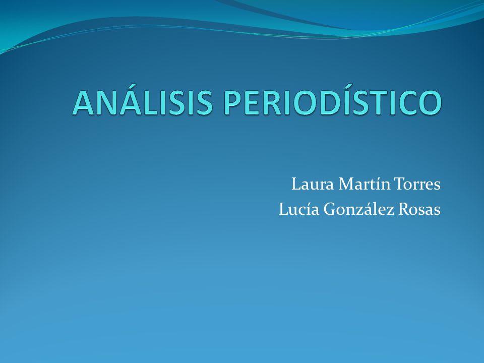 Laura Martín Torres Lucía González Rosas