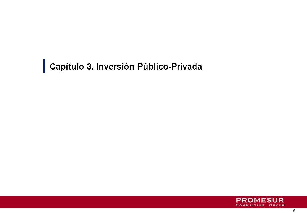 8 Capítulo 3. Inversión Público-Privada
