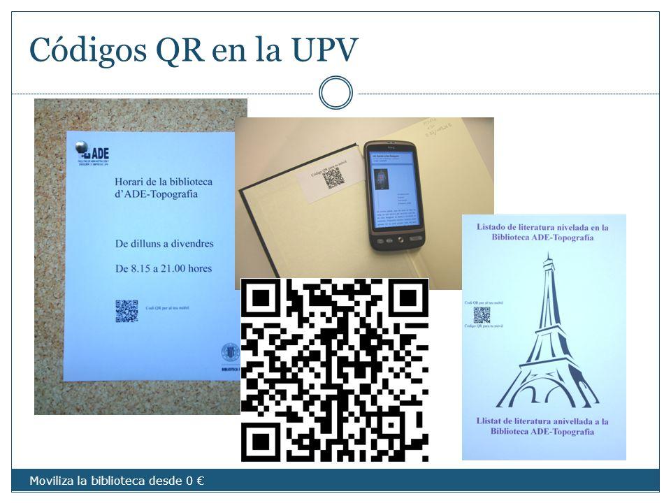 Códigos QR en la UPV imágenes Moviliza la biblioteca desde 0
