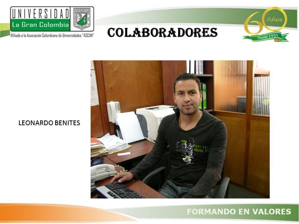 LEONARDO BENITES COLABORADORES