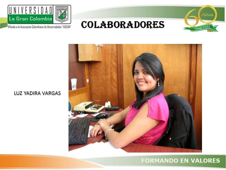 LUZ YADIRA VARGAS COLABORADORES