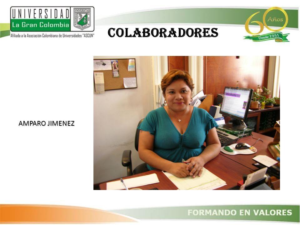 AMPARO JIMENEZ COLABORADORES
