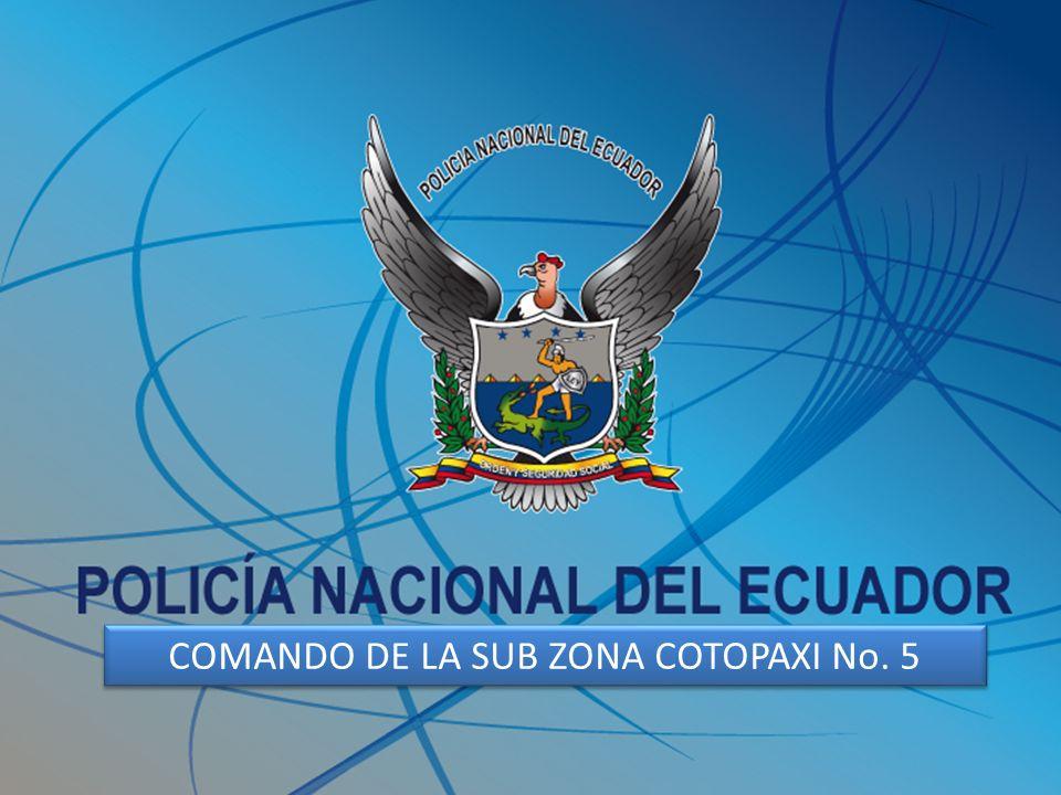SEGURIDAD PARA EL CONTROL DE LA COMPARSA DE LA MAMA NEGRA 2011 COMANDO DE LA SUB ZONA COTOPAXI No. 5