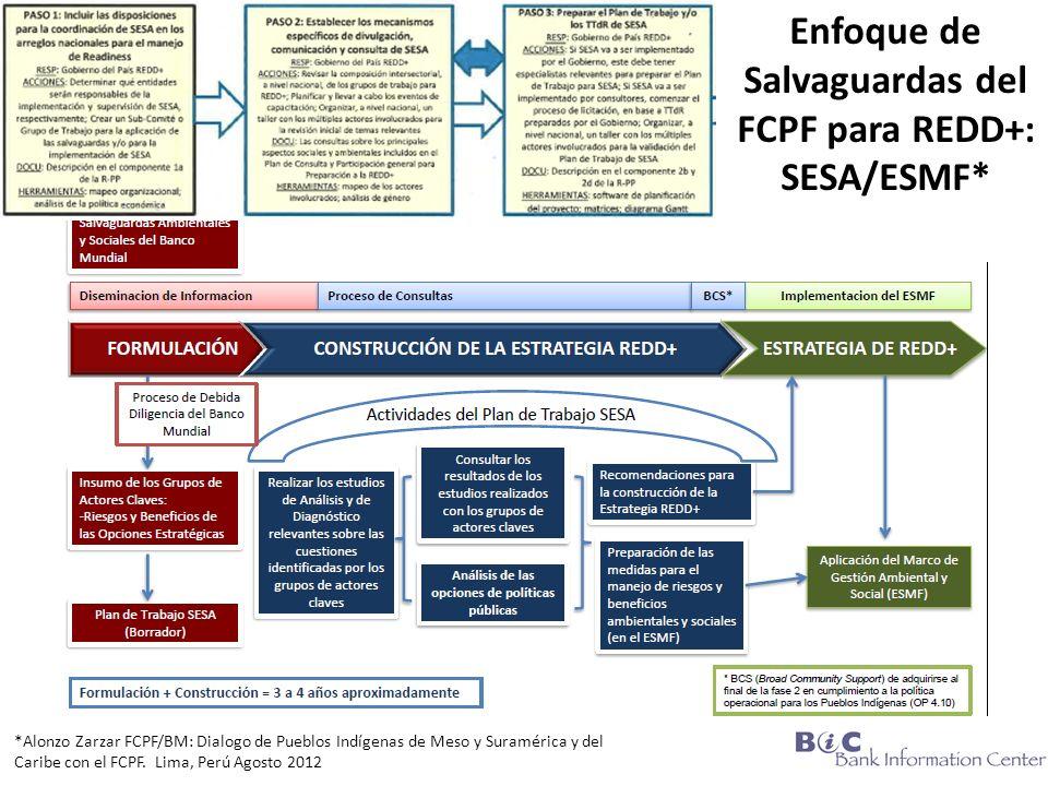 *Alonzo Zarzar FCPF/BM: Dialogo de Pueblos Indígenas de Meso y Suramérica y del Caribe con el FCPF.