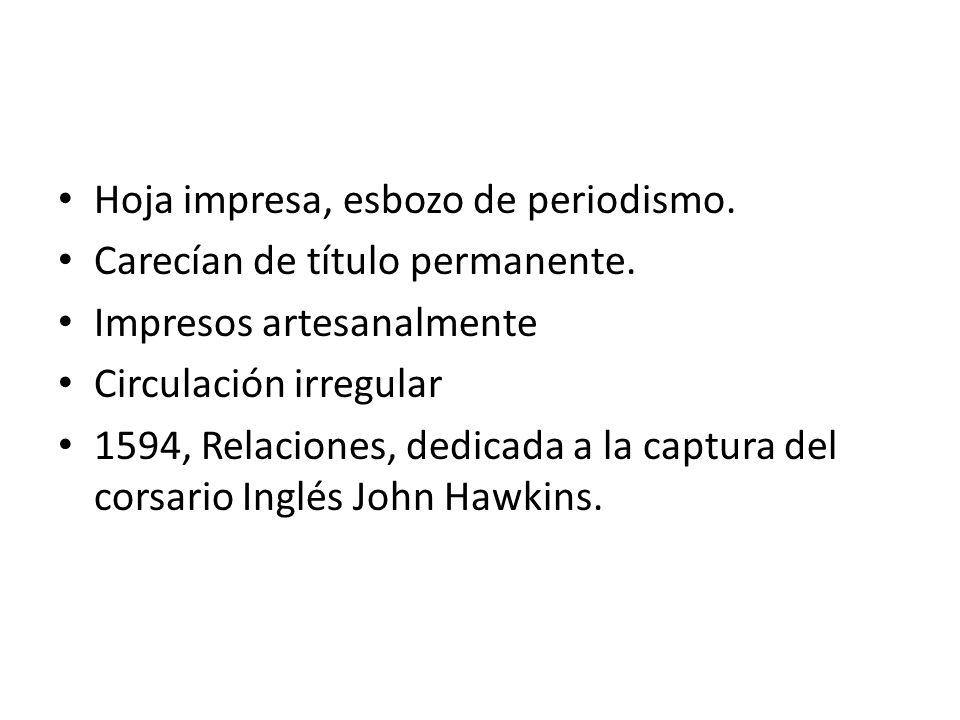 Los Noticiarios (1618) Mejor contenido.Informes diversos sobre sucesos ocurridos en Europa.