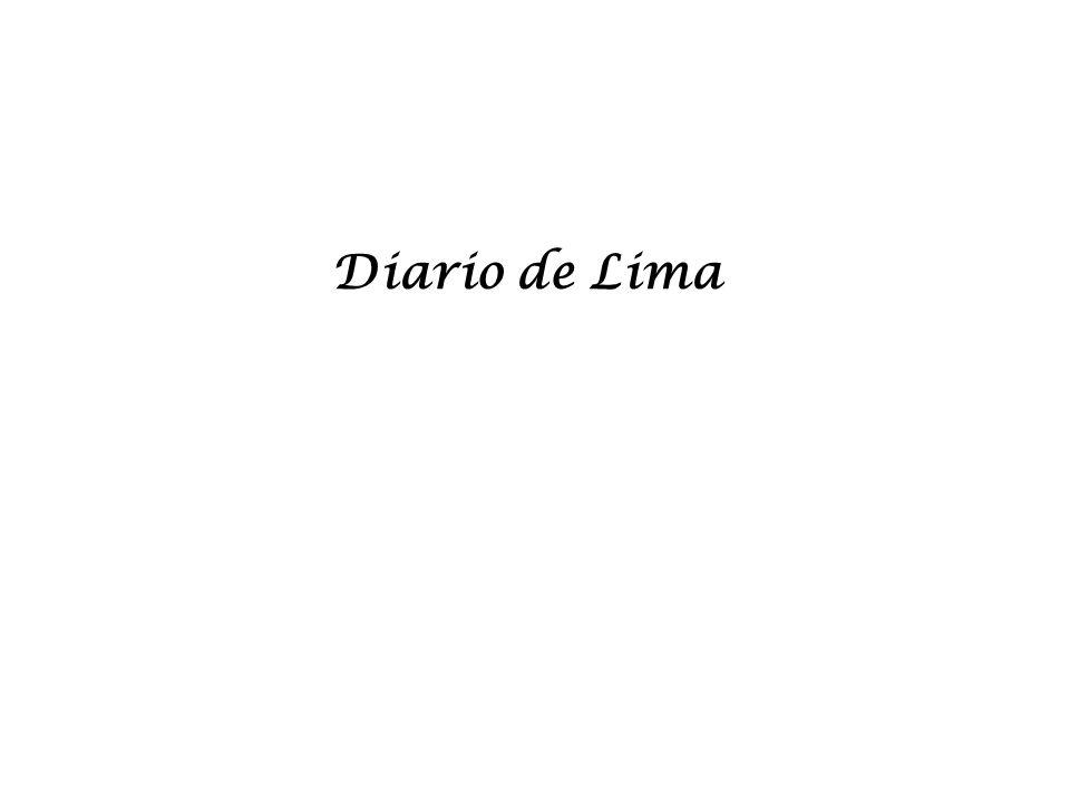 En el folio uno del número uno empieza una breve descripción del Perú bajo el titulo Idea General del Perú.