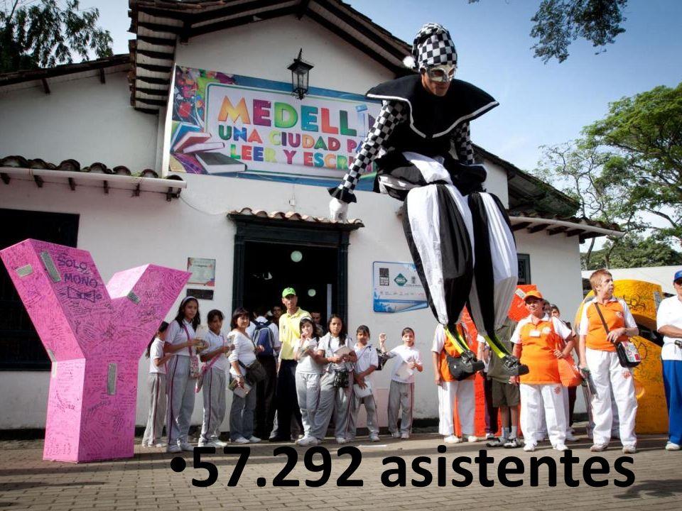 57.292 asistentes