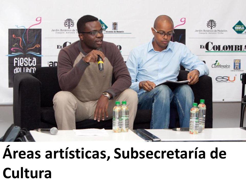 Áreas artísticas, Subsecretaría de Cultura