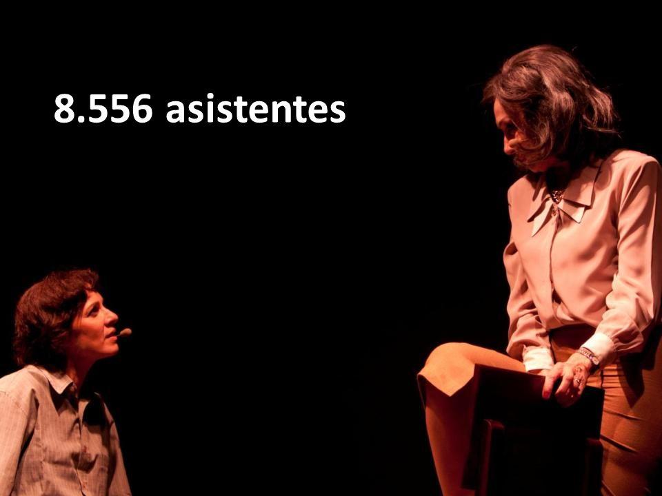 8.556 asistentes