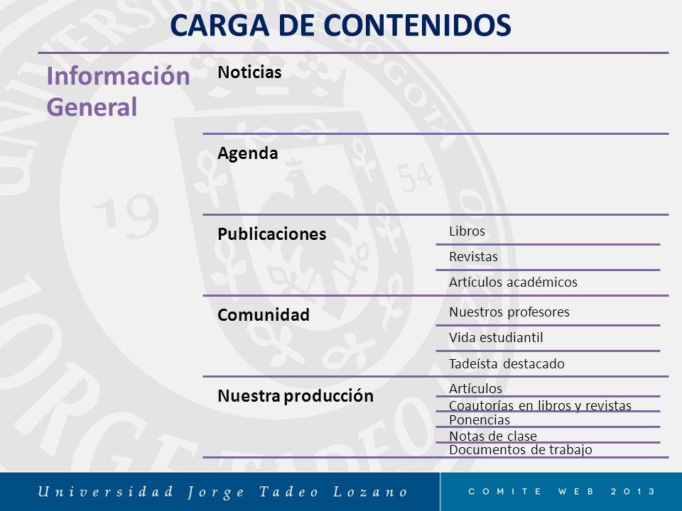 TADEO DIGITAL Página Web 2012- 2014