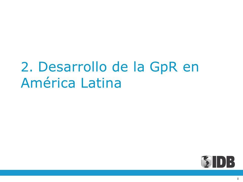 8 2. Desarrollo de la GpR en América Latina
