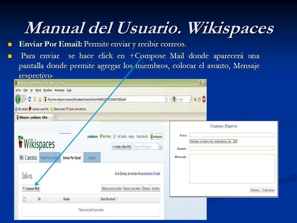 Enviar Por Email: Permite enviar y recibir correos. Enviar Por Email: Permite enviar y recibir correos. Para enviar se hace click en +Compose Mail don