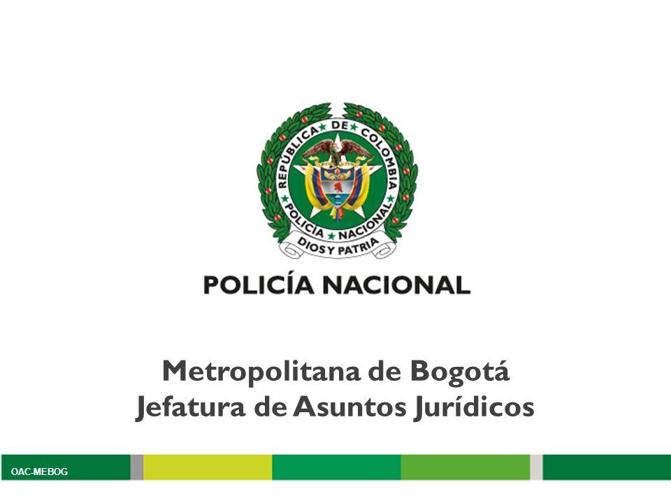 Metropolitana de Bogotá Jefatura de Asuntos Jurídicos OAC-MEBOG