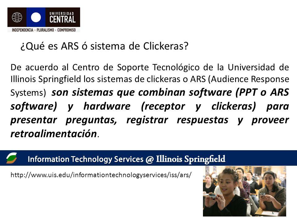 ¿Qué es ARS ó sistema de Clickeras.