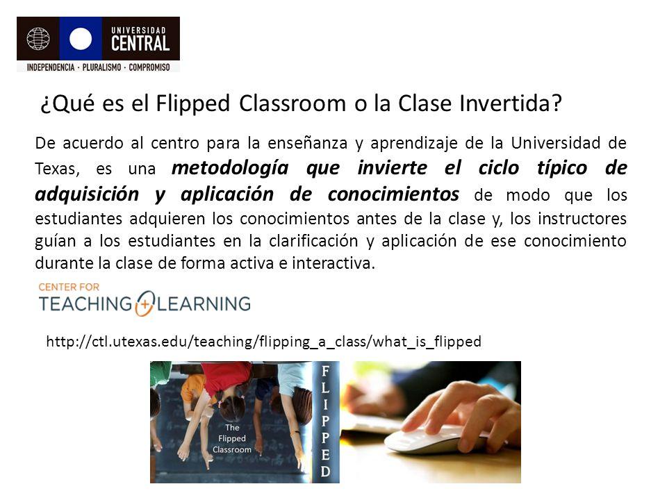 ¿Qué es el Flipped Classroom o la Clase Invertida.