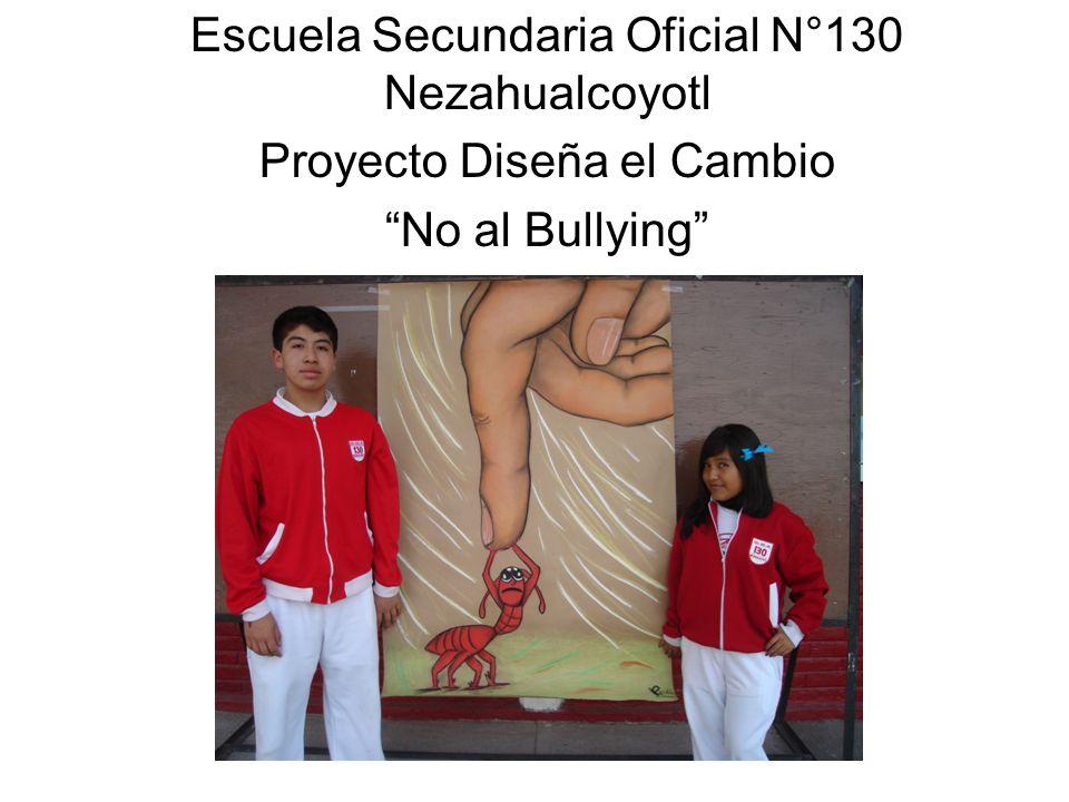 Free Powerpoint Templates Page 1 Escuela Secundaria Oficial N°130 Nezahualcoyotl Proyecto Diseña el Cambio No al Bullying