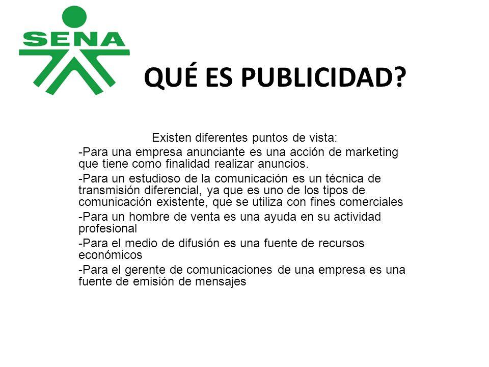 -En conclusión la publicidad es una actividad en la que interviene activa, pasiva y receptivamente una diversidad de profesiones, ocupaciones, hechos, acciones y funciones.