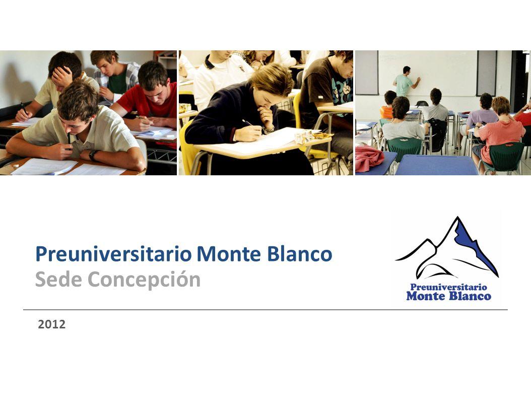 Preuniversitario Monte Blanco 2012 Sede Concepción