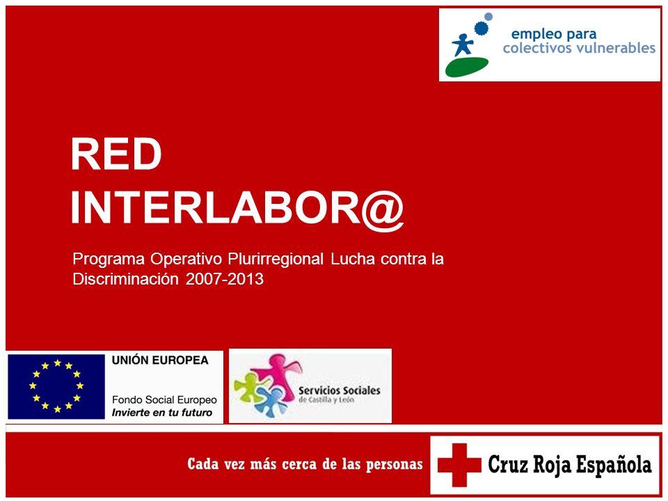 RED INTERLABOR@ Programa Operativo Plurirregional Lucha contra la Discriminación 2007-2013