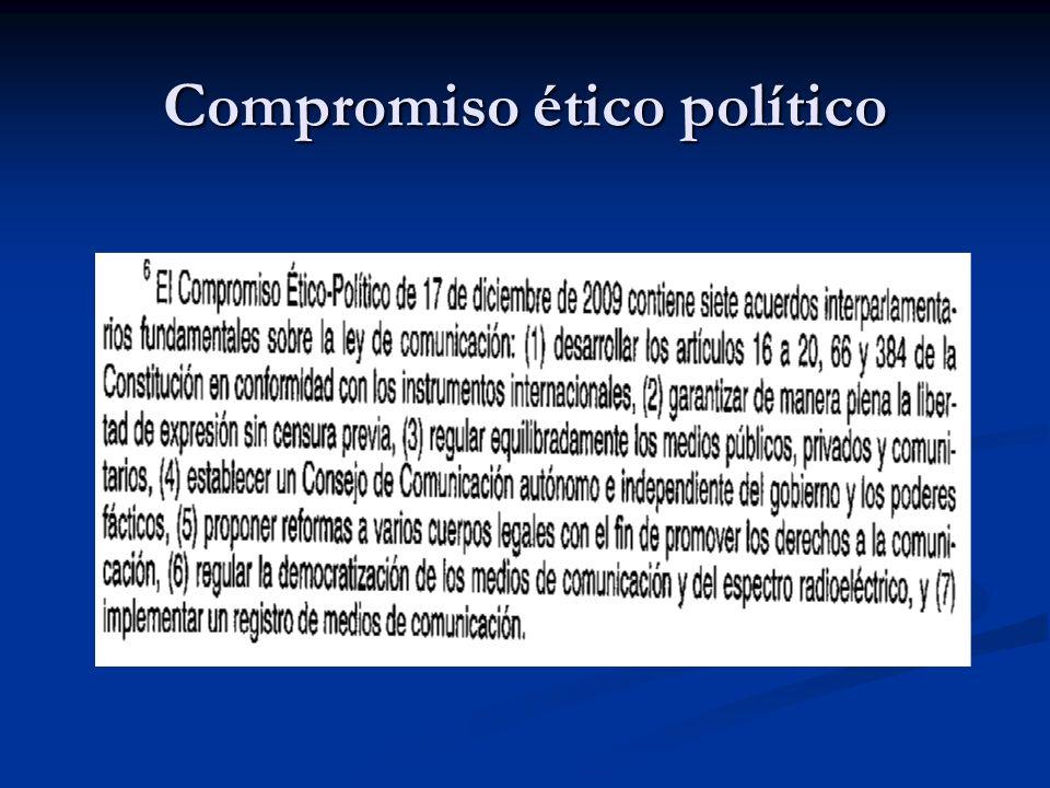 Compromiso ético político
