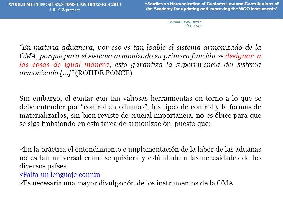 Muchas gracias Germán Pardo Carrero Ph D.
