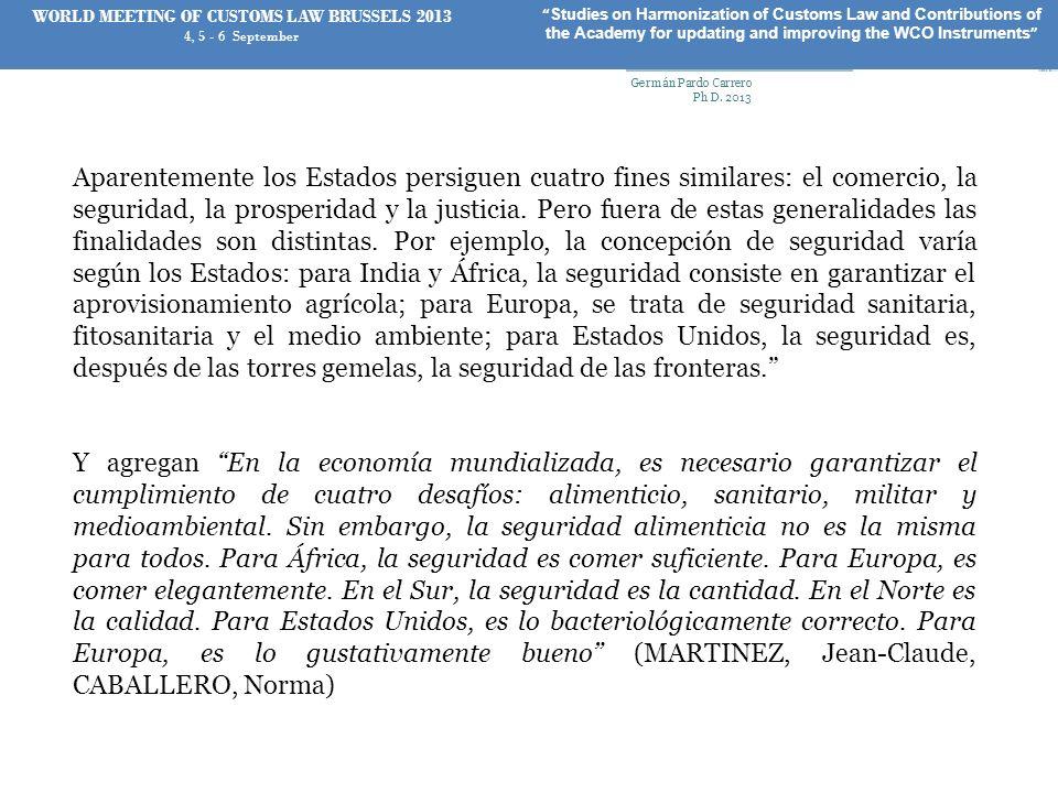 UN CASO DE APLICACIÓN Germán Pardo Carrero Ph D. 2013 36