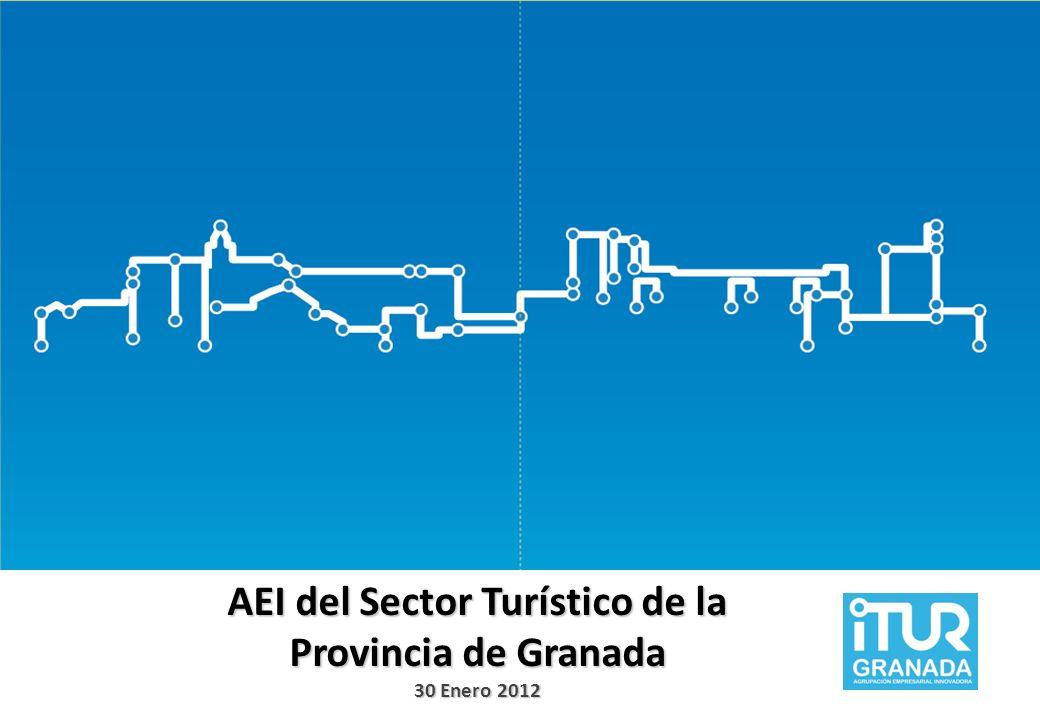 AEI del Sector Turístico de la Provincia de Granada 30 Enero 2012