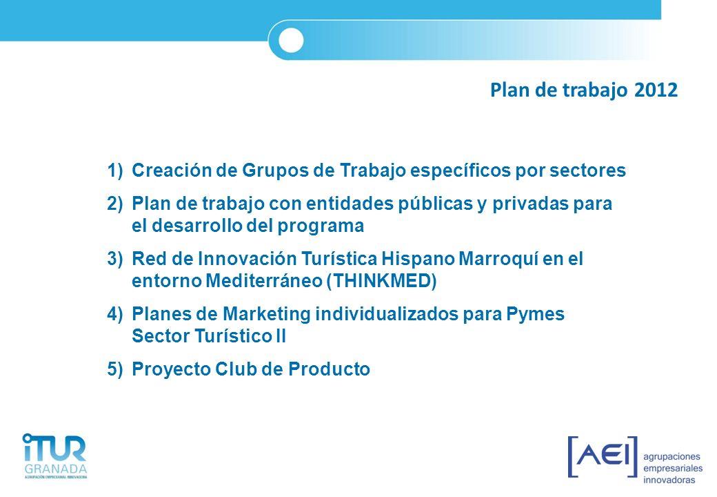 1)Creación de Grupos de Trabajo específicos por sectores 2)Plan de trabajo con entidades públicas y privadas para el desarrollo del programa 3)Red de