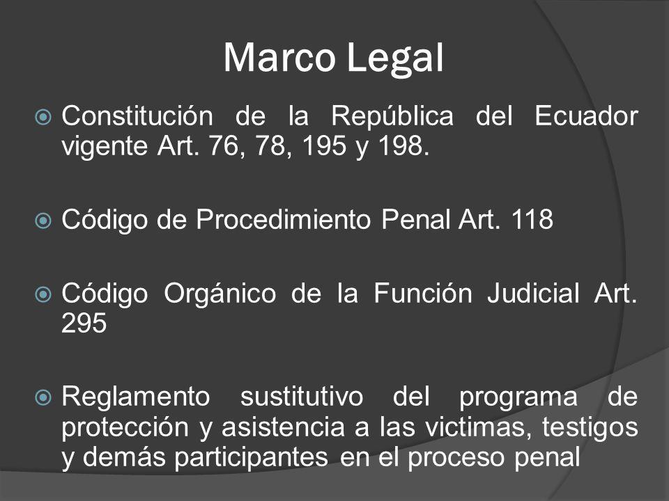 Marco Legal Constitución de la República del Ecuador vigente Art.