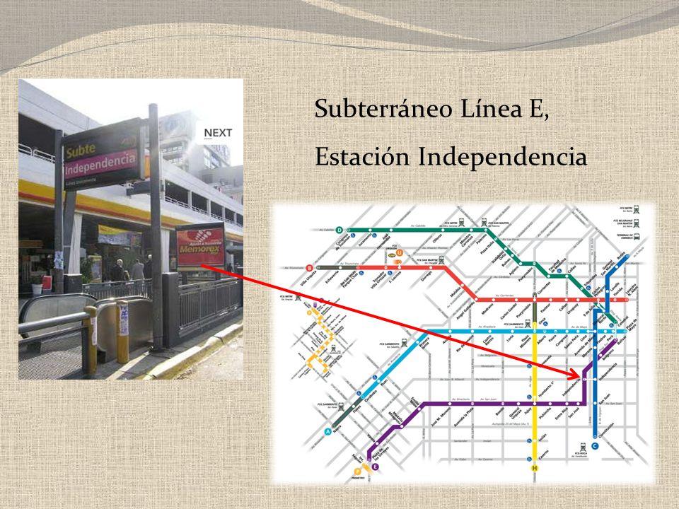 Estación de Servicio Shell Estación de subterráneo Independencia