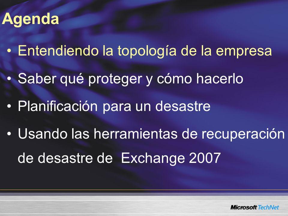 Roles de servidor Exchange 2007 Perímetro Exchange 2007 Edge Server Intranet Exchange 2007 Server